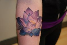 Lotus Flower Tattoo Tribal