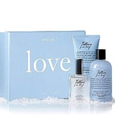 "Philosophy falling in love, my signature fragrance. Ppl always say ""You. Smell. Soooo. Good!"""