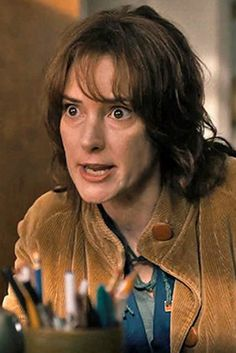 """Winona Ryder as Joyce Byers 
