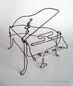 LaVern David Thompson's piano Sculpture