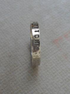 Personalized Mom Ring Womens Sterling par DakotaDesignsJewelry
