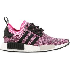 Adidas Originals Women Nmd R1 Primeknit Sneakers (4,130 MXN) ❤ liked on Polyvore featuring shoes, sneakers, rubber sole shoes, adidas originals trainers, adidas originals, adidas originals shoes and adidas originals sneakers