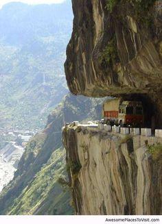 Karakoram Highway, Pakistan / Awesome place to visit