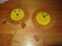 Die Bastel-Elfe, alles rund ums Basteln - Löwen