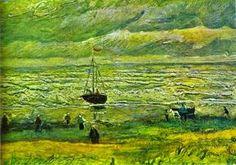 Vincent van Gogh, Shores of Scheveningen, 1882.