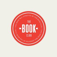 The book club sticker Typography Design, Logo Design, Lettering, Graphic Design, Film Music Books, Logo Branding, Brand Identity, Dog Names, Free Books