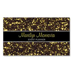 Glitter Glam Sparkle Gem Business Card. Stand out from the rest of the competition with the beautiful glitter look business card. The card contains no glitter, it's just the artwork than makes it look glittery. Put some sparkle in your life.