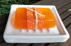 Orange Soap with Essential Oils