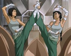 Was Kuvira in the Metal Lotus dance from season 3?!?