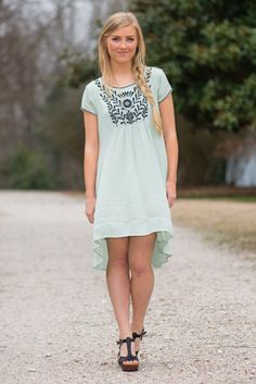 Love Will Find You Dress, Mint - The Mint Julep Boutique