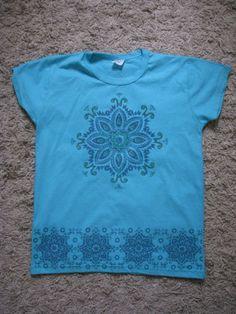 Blusa Feminina Azul tamanho M nova - #blusa #mandala #doacao #donateria #gratis