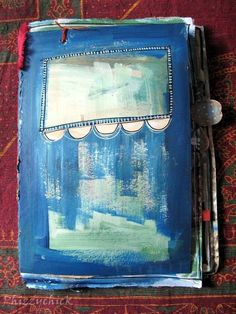 Recycled Envelope Travel Journal - by Phizzychick - www.craftster.org PAPER CRAFTS, SCRAPBOOKING & ATCs