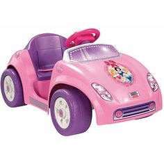 Juslee is def. getting this<3 The Power Wheels Disney Princess Tot Rod is a barrier-buster toddler series product that overcomes moms objection