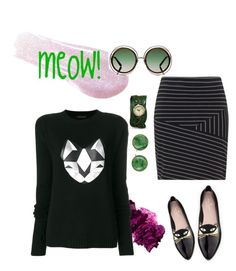 Designer Clothes, Shoes & Bags for Women Cat Love, Kate Spade, Shoe Bag, Cats, Polyvore, Shopping, Collection, Shoes, Design