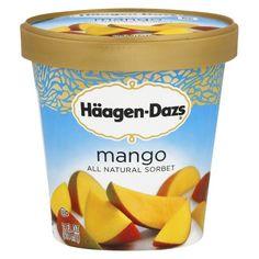 Haagen-Dazs Mango Sorbet 14 oz