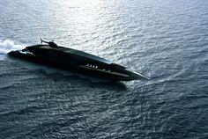 Black Swan Superyacht 70m by Timur Bozca at Coroflot
