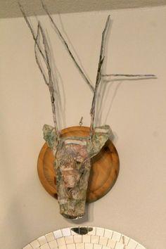 Outi's life DIY Deer head Deer, Painting, Life, Art, Art Background, Painting Art, Kunst, Paintings, Performing Arts