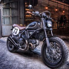 Ducati Scrambler, maybe when I move into the desert one day I'll actually purchase one.