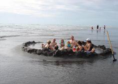 natural hot springs at ocean beach