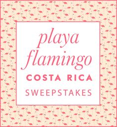@katespadeny and afar want to whisk away one lucky winner and a friend for a sunny escape to costa rica. I just entered, you should too! ends may 31st, 2015.