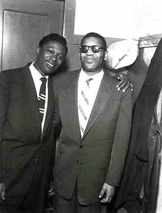 BB King and Ray Charles. Memphis, By Ernest Withers. Music Icon, Soul Music, Sound Of Music, Music Is Life, My Music, Ray Charles, Rhythm And Blues, Jazz Blues, Blues Artists