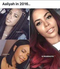Aaliyah Rip Aaliyah, Aaliyah Style, Healthy Relaxed Hair, Aaliyah Haughton, Vintage Black Glamour, Girl Inspiration, Role Models, Memes, Beautiful People