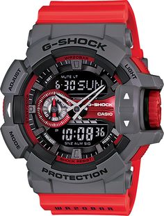 G-Shock GA 400 I like all these G Shocks, they're so neat.
