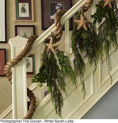 DIY Home Décor: How to Decorate for a Coastal Christmas