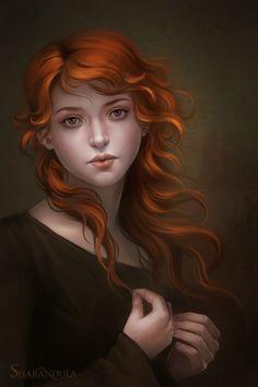 girl by *sharandula Digital Art / Drawings & Paintings / People / Portraits©2012-2013 *sharandula