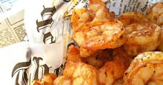 For some reason, every time I think of this recipe I start singing Tag Team's Whoomp! Probably because this lyrical masterpi. Lobster Recipes, Shrimp Recipes, Fish Recipes, Gluten Free Puff Pastry, Easy Appetizer Recipes, Appetizers, Shrimp Dishes, Edible Food, How To Cook Shrimp