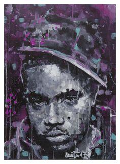 NAS, Acrylic on canvas, 50x70