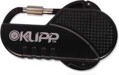 The Klipp Lighter from Ultimate Survival Technologies.  Butane, 3 x 1.8 x 0.7 inches, 1.4 oz.