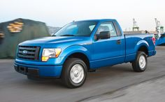 Ford F150 Regular Cab Blue