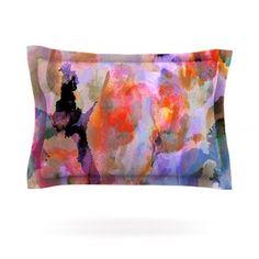 Painterly Blush by Nikki Strange Featherweight Pillow Sham