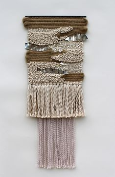 Hemp Sliver Weaving by All Roads. Available in Charleston, South Carolina via The Commons.