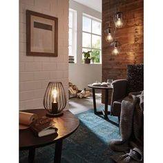 EGLO hanglamp Newtown - zwart