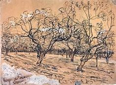 Research point: Vincent van Gogh pen and ink drawing