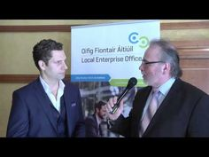 Jonathan McCrea Keynote Speaker at the Student Enterprise Awards talks t...