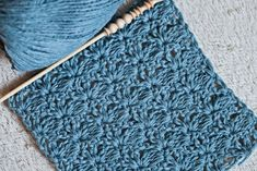 New free crochet stitch pattern – easy and beautiful!