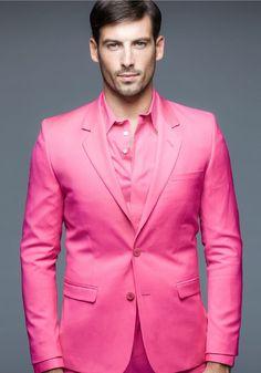 >> Click to Buy << Latest Coat Pant Designs Hot Pink Formal Shining Custom Made Men Blazer Suit Notched Lapel Slim Fit 2 Piece Vestidos De Fiesta C #Affiliate