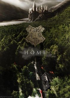 """""""Hogwarts will always be there to welcome you home."""" - J.K. Rowling"""