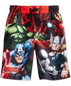 Avengers Little Boys' Swim Trunks