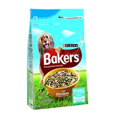 Bakers Complete Puppy Junior Chicken and Veg 27 Kg pack of 4 -- For more information, visit image link.