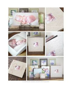 Finao playBOOK photo book | Images by Andrea Halsey Photography www.andreahalsey.com #portrait #newborn #baby #photography #album #linen #fabric #natural