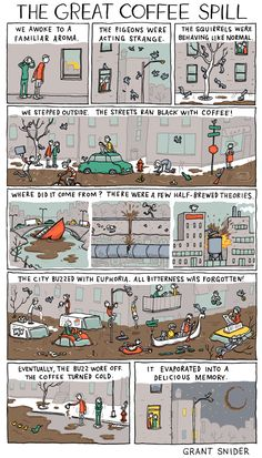 The Great Coffee Spill