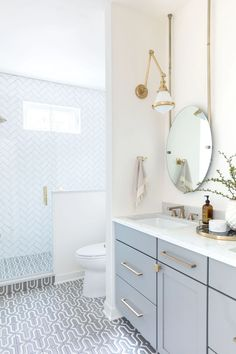Gray Malins Mazagan Bathroom by Kate Lester | Fireclay Tile