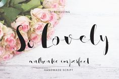 So Lovely Script – Pixelify
