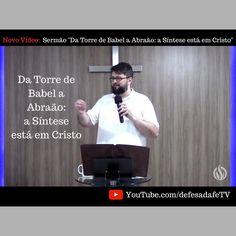 Novo vídeo no Canal!  Da Torre de #Babel a #Abraão: a Síntese está em #Cristo  Mantenha-se conectado conosco:  MDFé - Ministério Defesa da Fé  Rua Srg Ovídio 210 59022-090 Natal - RN  WhatsApp: (84) 98185.1517  WebSite - MDFé: http://defesadafe.org Facebook: http://ift.tt/1PbfWoX YouTube: http://youtube.com/defesadafeTV  Tassos Lycurgo  Site Acadêmico: http://lycurgo.org Twitter: https://twitter.com/lycurgo Facebook: http://ift.tt/2eJtzGB Instagram: http://ift.tt/2elwbb7
