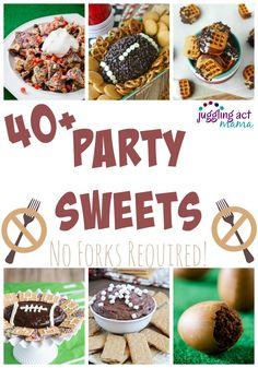 40+ Football Party Sweets - Juggling Act Mama