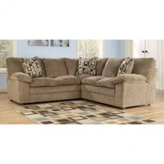 We offer the best selection at the lowest prices anywhere in contemporary, traditional & rustic living room, bedroom & dining furniture. Brown Sectional, Brown Sofa, Wolf Furniture, Dining Furniture, Texas Homes, Living Room Decor, Family Room, Couch, Contemporary